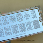 Aztec Tribal Stamping Decals with MoYou London Explorer 26